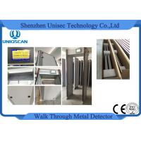Quality High sensitivity walk through metal Archway Metal Detector 7 incvh LCD screen wholesale