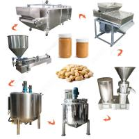 China 200-300kg/h Automatic Peanut Butter Making Machine Line Peanut Butter Processing Line on sale