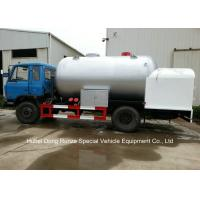 Quality Road Bobtail LPG Gas Tanker With Mobile Dispenser , Bobtail Propane Delivery Truck wholesale