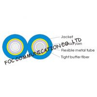 Quality Armored Optical Fiber Cable Zipcord Duplex With Flexible Metal Tube wholesale