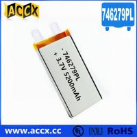 Quality 746279PL 3.7V 5200mAh Lithium Polymer Battery wholesale