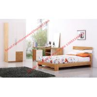 Quality Modern Children bedroom furniture by KD structure Bed in white painting and Olive wood wholesale