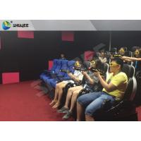 Quality Business Mode 7D Cinema System With Interative Luxury 7D Gun Shooting Game wholesale