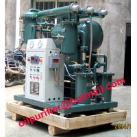 Quality Single Stage Vacuum Transformer Oil Purifier, Insulating Oil Recondition, Oil Purification wholesale