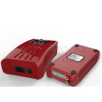 Red Plastic Mold RC NiMh Battery Charger With US UK EU AC Cords