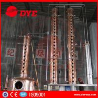 Quality Popular Style Commercial Distilling Equipment Making Whisky Rum Gin wholesale