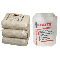 China Customized Polypropylene Cement Bags , PP Cement Packing Bags 25KG 50KG on sale