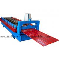 Quality Metal Trapezoidal Cold Roll Forming Machine / Roofing Panel Roll Forming Equipment wholesale