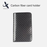 Quality Factory Manufacturer carbon fiber passport credit card holder business card holder wholesale