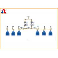 China Three Groups of Oxygen Double-side Gas Cylinder Manifold For Cutting Machine on sale