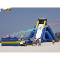 China ODM Kids Large Long 0.55mm PVC tarpaulin Commercial Inflatable Slide rentals on sale