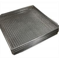 Quality Woven wire grill mesh basket for holding glass plate stainless steel 304 wholesale
