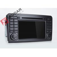 Quality Mercedes Benz Car Audio Gps Navigation , Mercedes Ml Dvd Player With Dual CANbus wholesale