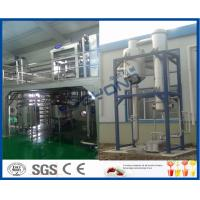 China Liquid Beverage Juice Manufacturing Equipment , CIP Cleaning Juice Manufacturing Machines on sale