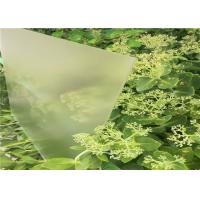 Quality Clear Tempered Solar Glass Ultra White High Transmittance Solid Structure wholesale