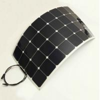 Quality Top 1. USA Sunpower Flexible solar panel any size for Yacht boat golf car etc wholesale