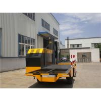 Quality 6 Ton Hydraulic Side Loader Forklift Truck For Workshop Loading Steel Pipes wholesale