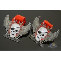 Buy cheap Custom Your Own Logo Skull Metal Award Medals Soft Enamel Filling, Bespoke Your from wholesalers