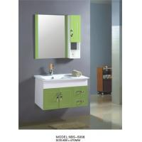 Quality 80 X47/cm PVC bathroom cabinet / wall cabinet / hung cabinet / white color for bathroom wholesale