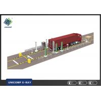 Quality Automatic Detection X Ray Security Scanner UNL500A Crops Truck Inspection System wholesale
