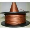 Buy cheap Metal Copper Filament 1.75 3.0mm Metal 3d Printing Filament Natural Copper Filament from wholesalers
