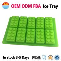 Quality Amazon Cool Big Giant Large Lego Ice Tray Block Silicone Molds Ice Cube Mould for Drinks wholesale