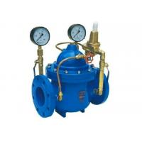 China Pressure Reducing Valve  DN 300 PN16 With Pilot Circuit  Including Automated Control Downstream Pressure on sale