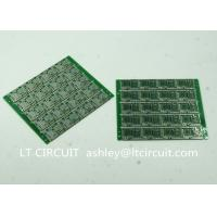 Quality Four Layer Multilayer Printed Circuit  Custom Pcb Board 0.8MM Green Solder Mask wholesale