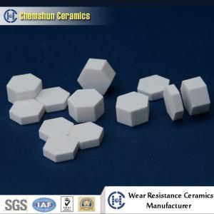 China Manufacturer Supplied Alumina Ceramic Hexagonal Sheet as Wear Resistant Liners