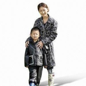 Quality Children's Rainwear, Made of PU Fabric wholesale