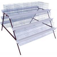 China Q235 Layer Chicken Battery Cages Chicken Feeder for Poultry Farms on sale