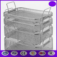 Quality wire mesh sterilization basket/Medical Autoclave Tray PRICE wholesale