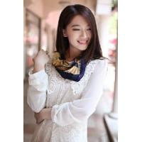 Quality Silk Polyester Scarf (12-BR050320-6.6) wholesale