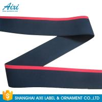Quality Printed Logo Jacquard Elastic Waistband Men's Underwear  Woven Elastic Tape wholesale