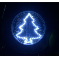 China Christmas Tree Solar Garden Lights Solar Inground Lights with Stake Mount on Ground Solar Light for Season Holiday Decor on sale