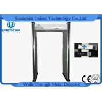 Quality Multi Colors Security Walk Through Metal Detector For Building Entrances wholesale