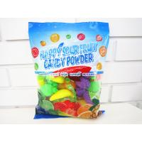 Quality Multi Fruit Flavor Sour Powder Candy With Fruit Shape Packed In Bag Yummy And Lovely wholesale