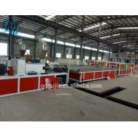 China PVC Hollow Wall Board Manufacturing Machine, CPVC Laminating Ceiling Panel Making Machinery on sale