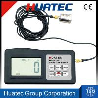 Cheap Accuracy Digital Vibration Meter , Portable Vibration Analyzer HG-6360 for sale