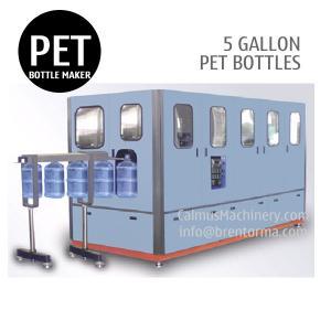Quality 120BPH 5 Gallon PET Bottle Making Machine 18.9L 19L 20L PET Bottle Blow Molding Machine wholesale