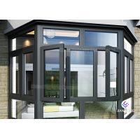 Quality Powder Coating Frames Aluminium Windows And Doors With Mosquito Nets wholesale