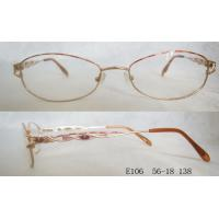 Quality Cute Colorful Optical Glasses Frames For Women , Lightweight Metal Frames wholesale