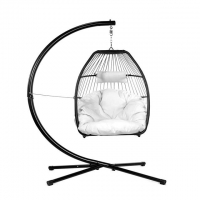 Quality 97cm Width Rattan Hanging Egg Chair wholesale