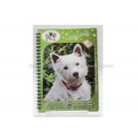 Quality 3D PET/PP/PVC Notebooks 3d Lenticular Cover A6 Jotter For Gift / Premium wholesale