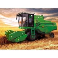 China Used DETRNK Mini Wheat Harvester Farm Agricultual Machine Similar Grain Rice Wheat Combine Harvester on sale
