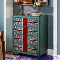 Quality 4 Drawers chest modern painted decoration cabinet corner table sideboard  JY-938 wholesale