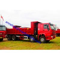 Quality 12 Tires Heavy Duty Dump Truck 8x4 25m3 for 50T Sand Load And Mine Project wholesale