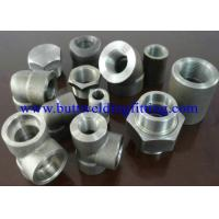 Quality Steel Forged Fittings A182 F51, F52 , F53 , F55 , Elbow , Tee , Reducer , Nipple, 3000LB  ANSI B16.11 wholesale
