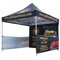 Quality Waterproof Advertising Canopy Tents, Hexagonal Steel Frame Outdoor Canopy Tent wholesale
