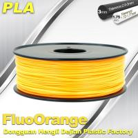 Quality 1.75mm PLA   Fluorescent  Filament  3D Print Material Stiffness High wholesale
